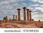 Ruins Of The Temple Of Athena...