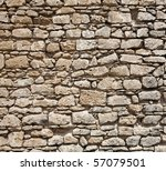 Wall Of Stones As A Texture  ...
