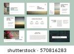 original white presentation... | Shutterstock .eps vector #570816283