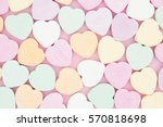 old fashion pale multi colored... | Shutterstock . vector #570818698