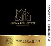 real estate logo | Shutterstock .eps vector #570869230