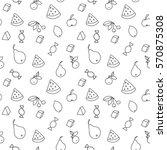 fruit pattern | Shutterstock .eps vector #570875308
