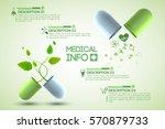 medicine information poster... | Shutterstock .eps vector #570879733