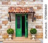 green door european style