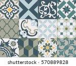 vintage tiles intricate details ...