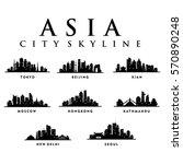 asia asian cities   city tour... | Shutterstock .eps vector #570890248