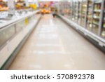 supermarket with abstract... | Shutterstock . vector #570892378