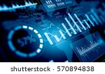 sales data and dynamics . mixed ... | Shutterstock . vector #570894838