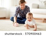 family  fatherhood  finances... | Shutterstock . vector #570900463