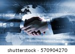 technologies to connect people .... | Shutterstock . vector #570904270