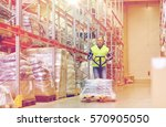wholesale  logistic  loading ... | Shutterstock . vector #570905050