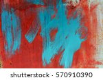 background concrete wall ... | Shutterstock . vector #570910390