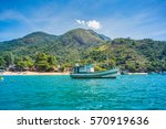 pouso da cajaiba  beach at... | Shutterstock . vector #570919636