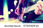 stage lights.abstract musical... | Shutterstock . vector #570930910
