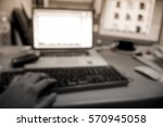 picture blurred  for background ... | Shutterstock . vector #570945058