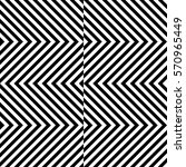 vector seamless pattern.... | Shutterstock .eps vector #570965449