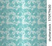 baby boy light blue geometric... | Shutterstock .eps vector #570979630