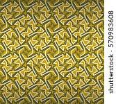 honey gold easter yellow... | Shutterstock .eps vector #570983608