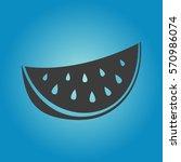 watermelon icon. watermelon...