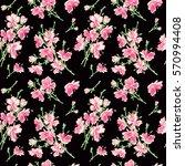 seamless pattern   bouquet  ... | Shutterstock .eps vector #570994408