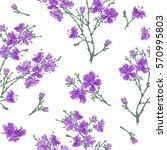 seamless pattern   bouquet  ...   Shutterstock .eps vector #570995803