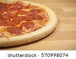 Pepperoni Pizza Up Close Studi...