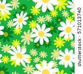 cute abstract seamless pattern... | Shutterstock .eps vector #571013740