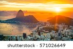 rio at sunrise | Shutterstock . vector #571026649