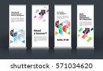 mega set. abstract business...   Shutterstock .eps vector #571034620