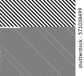 black diagonal lines. striped... | Shutterstock .eps vector #571038499