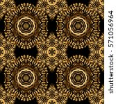glitter textured seamless... | Shutterstock . vector #571056964