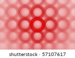 vivid bold red bubble circle... | Shutterstock . vector #57107617