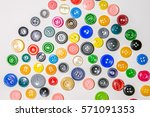 a big set of buttons in various ... | Shutterstock . vector #571091353