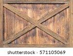 barn wall x | Shutterstock . vector #571105069