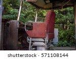 Old Metal Driver Control Seat...