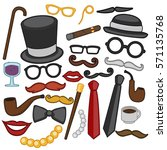 gentleman vector design art | Shutterstock .eps vector #571135768