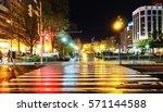 night road | Shutterstock . vector #571144588