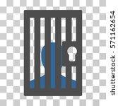 prison door icon. vector... | Shutterstock .eps vector #571162654
