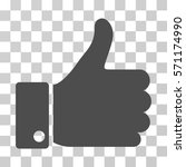 thumb up icon. vector... | Shutterstock .eps vector #571174990