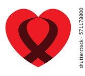 heart icon | Shutterstock .eps vector #571178800