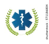 medical symbol isolated icon | Shutterstock .eps vector #571186804