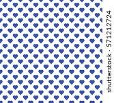 seamless pattern of small blue...