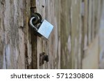 old home the lock key | Shutterstock . vector #571230808