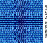 stylized image of binary code | Shutterstock . vector #57124168
