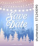 hanging decorative holiday... | Shutterstock .eps vector #571243090