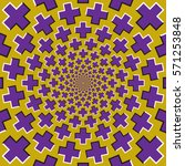 optical motion illusion bitmap... | Shutterstock . vector #571253848