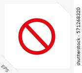 Vector Illustration Blank Ban