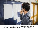 Student Reading Notice Board In ...