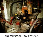 A Piece Of Old And Rusty...