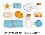 various spa and wellness... | Shutterstock . vector #571293844